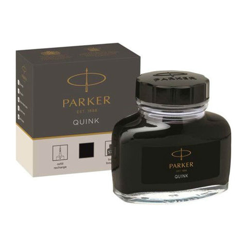 Parker - Quink Ink Bottle - 50ml - Black