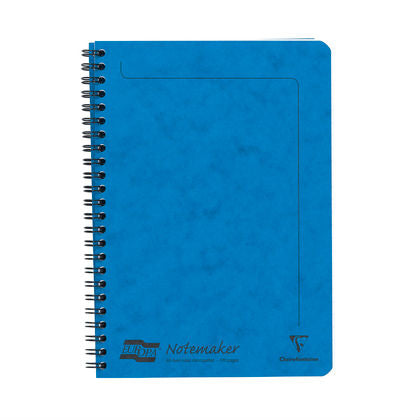 Clairefontaine - Notebook - Coiled - A5 - Blue