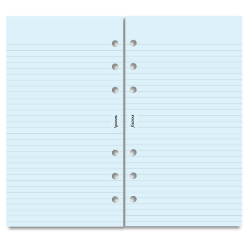 Filofax - Refill - Personal - Ruled - Blue