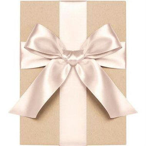 "Waste Not Paper - Ribbon - 1/4"" - Satin - Blush"