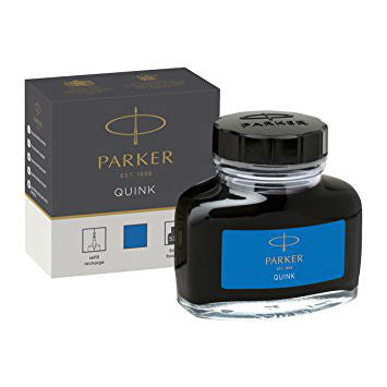 Parker - Quink Ink Bottle - 50ml - Blue