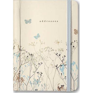 Peter Pauper - Address Book - Butterflies