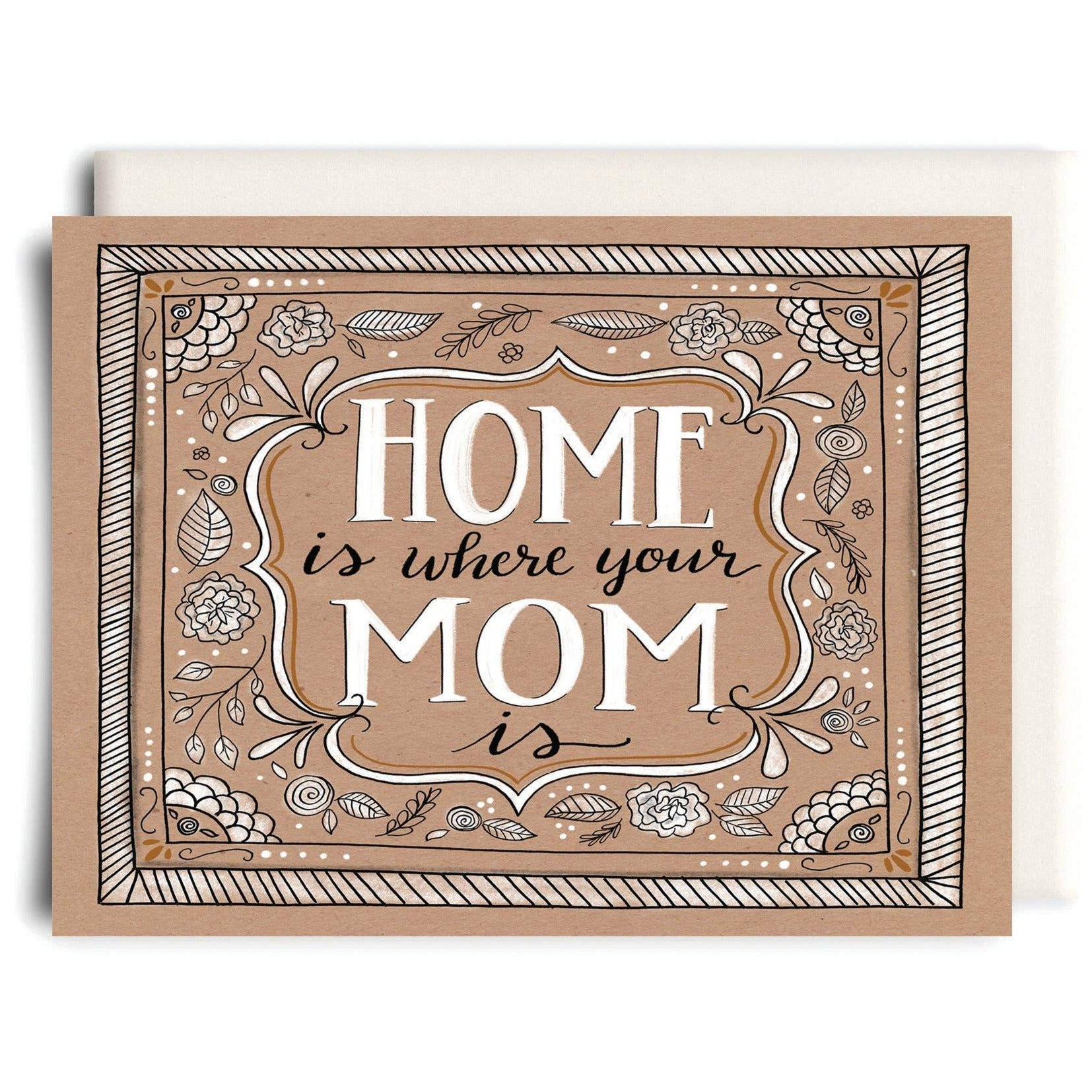 Inkwell Cards - Greeting Card - Home is Where Your Mom is