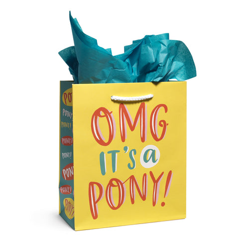 Emily McDowell - Tote - Medium - OMG it's a PONY
