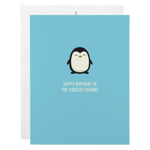 Classy Cards - Greeting Card - Penguin