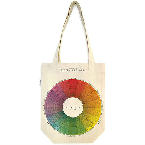 Cavallini - Canvas Tote - Colour Wheel
