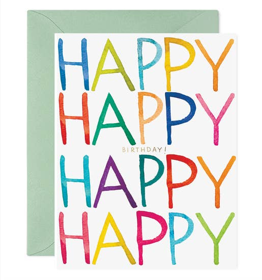 E Frances - Greeting Card - Really Happy