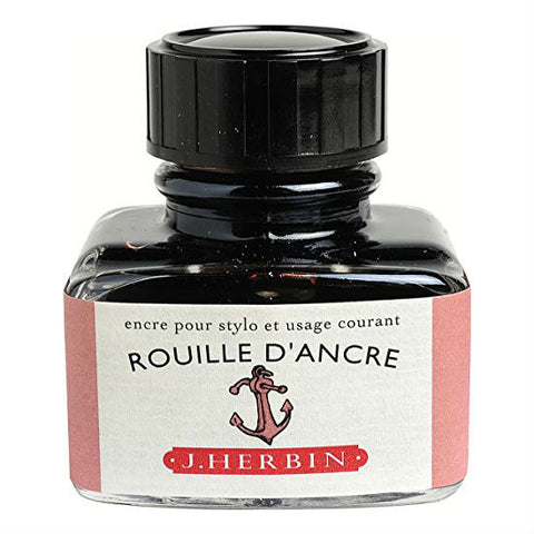 J. Herbin - Ink - 30ml Bottle - Rouille D'Ancre