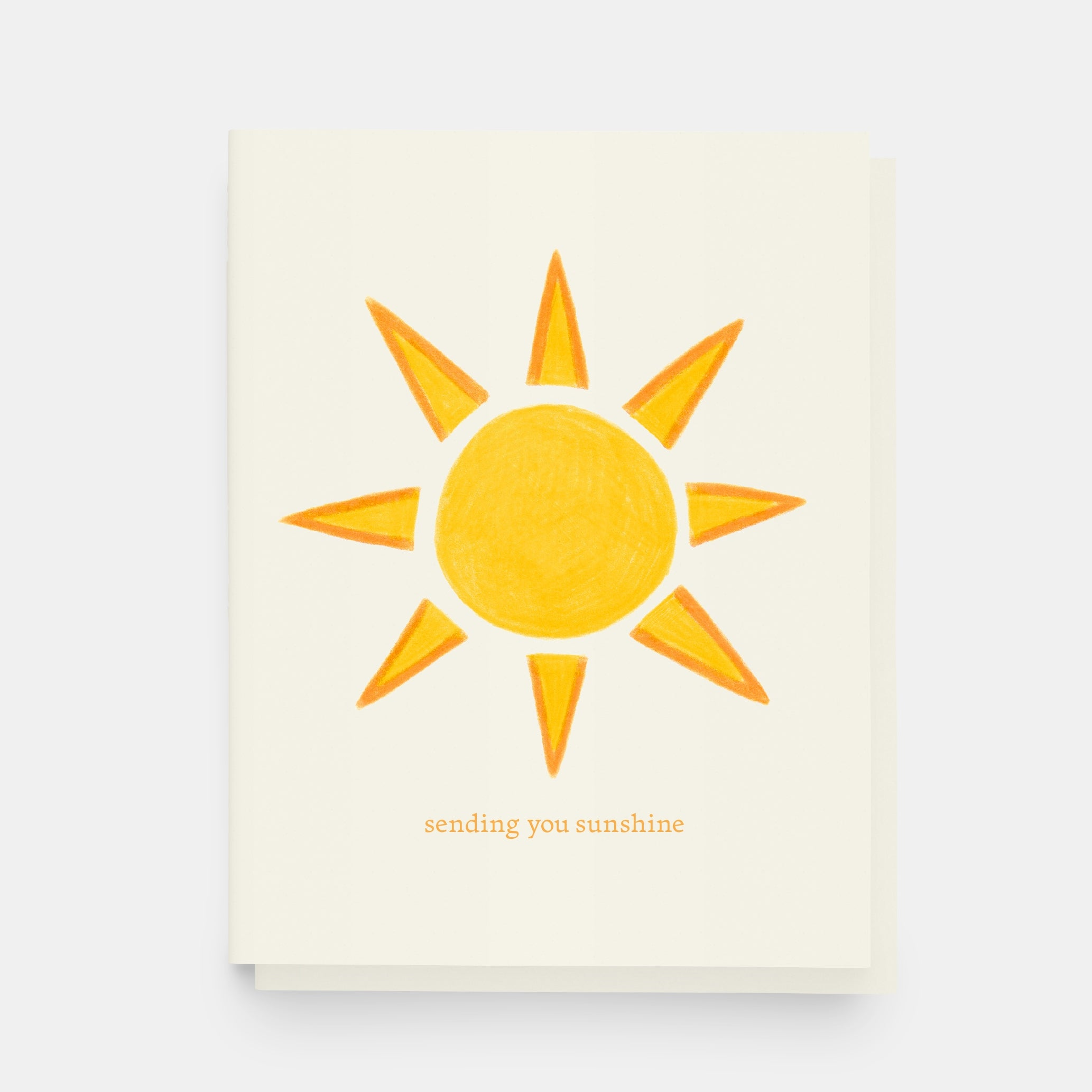Paper and Stuff - Greeting Card - Sending You Sunshine