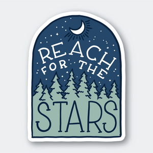Pike Street Press - Sticker - Reach for the Stars