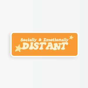 Party Mountain - Sticker -  Socially and Emotionally Distant