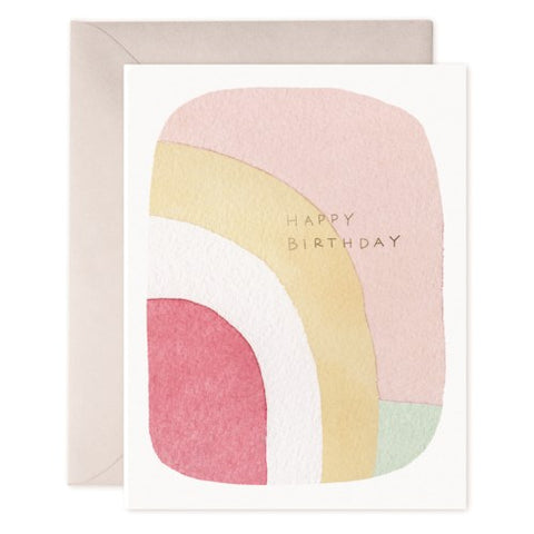 E Frances - Greeting Card - Happy Birthday - Dreamy Colours