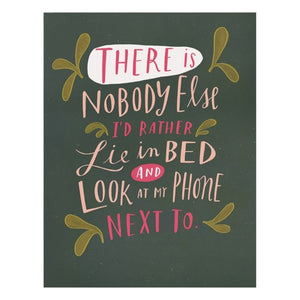 Emily McDowell - Greeting Card - Nobody Else