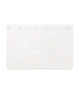 Appointed - Large Monthly Planner - Charcoal