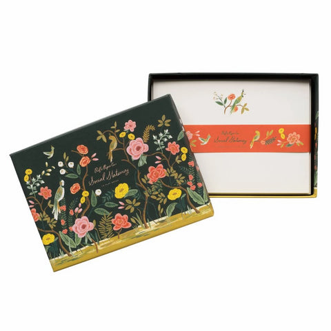 Rifle Paper Co. - Social Stationery Set - Shanghai Garden