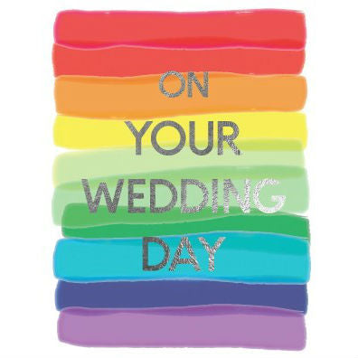 Random Cards - Greeting Card - On Your Wedding Day