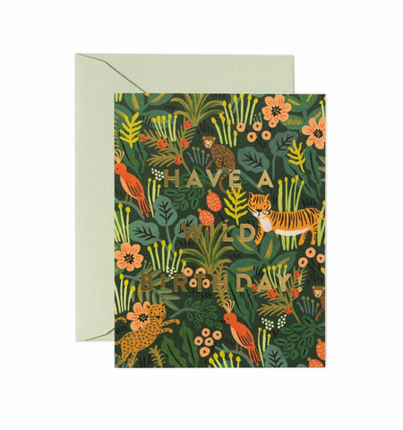Rifle Paper Co. - Greeting Card - Birthday - Wild Birthday