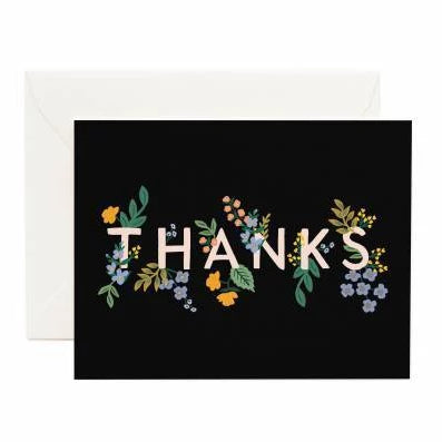 Rifle Paper Co. - Boxed Notes - Thank You - Posey