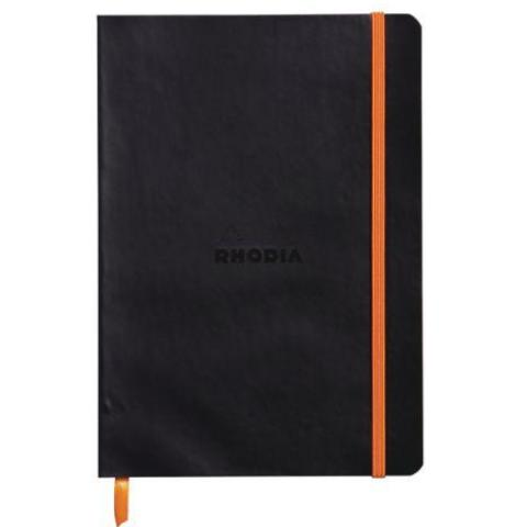 Rhodia - Notebook - Soft Cover - A5 - Black