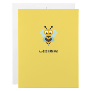 Classy Cards - Greeting Card - Ha-Bee Birthday