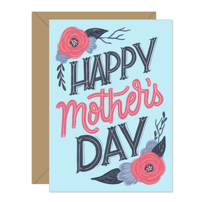 Hello Sweetie Design - Greeting Card - Happy Mother's Day - Floral