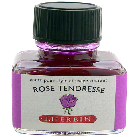 J. Herbin - Ink - 30ml Bottle - Rose Tendresse