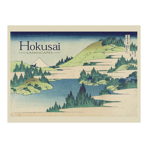 Pomegranate - Boxed Notes - Hokusai - Assorted Landscape Prints