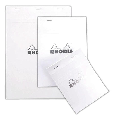 Rhodia - Notepad - N° 16 - Stapled - White - Lined