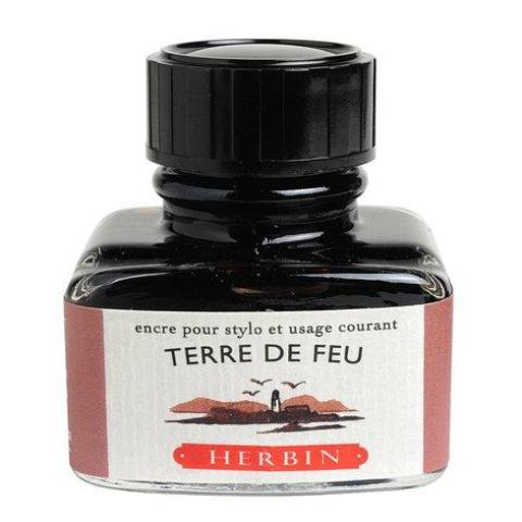 J. Herbin - Ink - 30ml Bottle - Terre De Feu