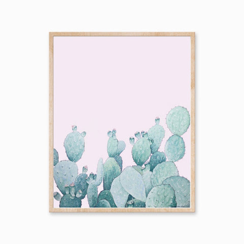Katelyn Morse - Art Print - Bloom - Cactus