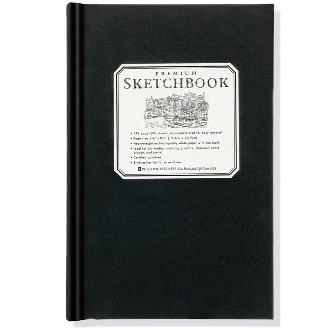 Peter Pauper Notebook - Premium Sketchbook Small