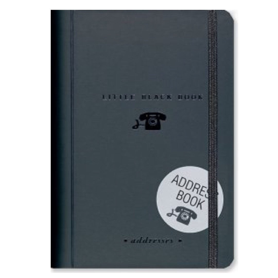 Peter Pauper - Address Book - Little Black Book of Addresses