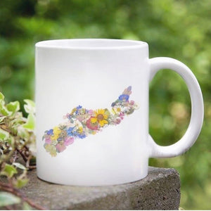 Seek & Bloom - Mug - Pressed Flowers Nova Scotia
