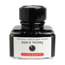 J. Herbin - Ink - 30ml Bottle - Perle Noire