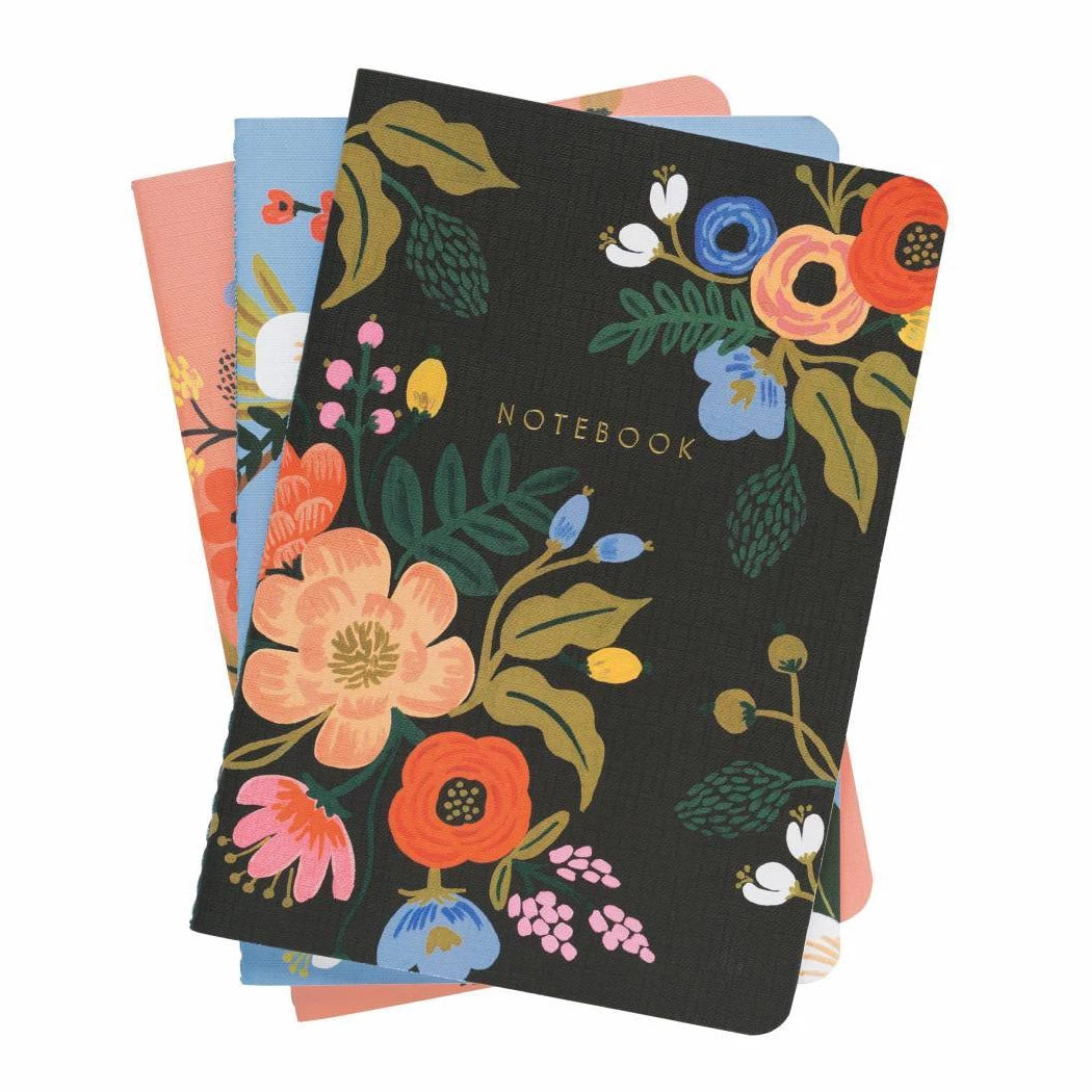 Rifle Paper Co. - Notebook - 3-Pack - Lively Floral
