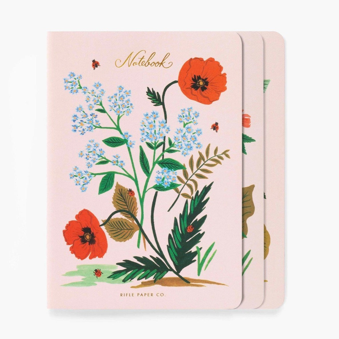 Rifle Paper Co. - Notebook 3-Pack - Botanical