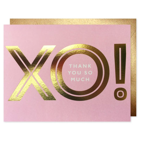J Falkner - Greeting Card - XO - Thank You So Much