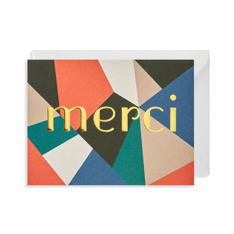 Lagom - Greeting Card - Merci - Geometric