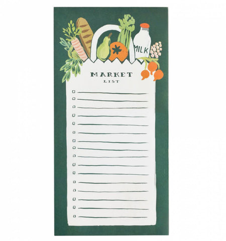 Rifle Paper Co. - Notepad - Market List - Market List