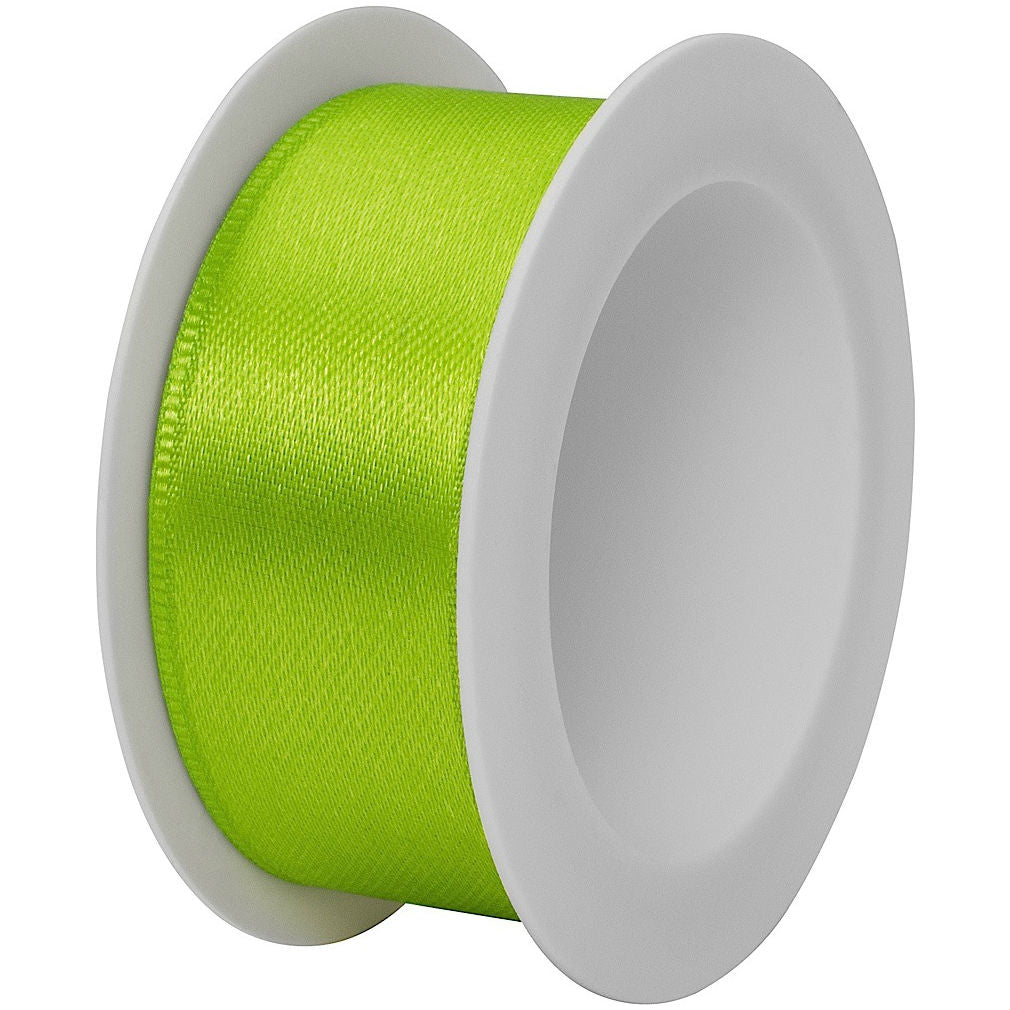 "The Gift Wrap Company - Ribbon - 7/8"" - Satin - Lime Green"