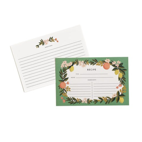 Rifle Paper Co. - Recipe Cards - Citrus