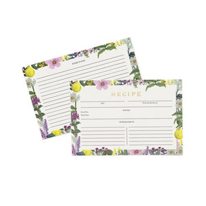 Rifle Paper Co. - Recipe Cards - Herb Garden