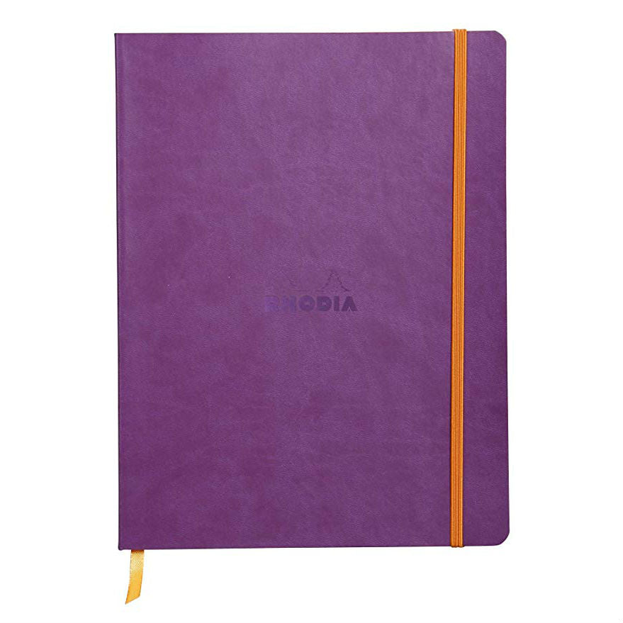 Rhodia - Notebook - Soft Cover - Large - Purple