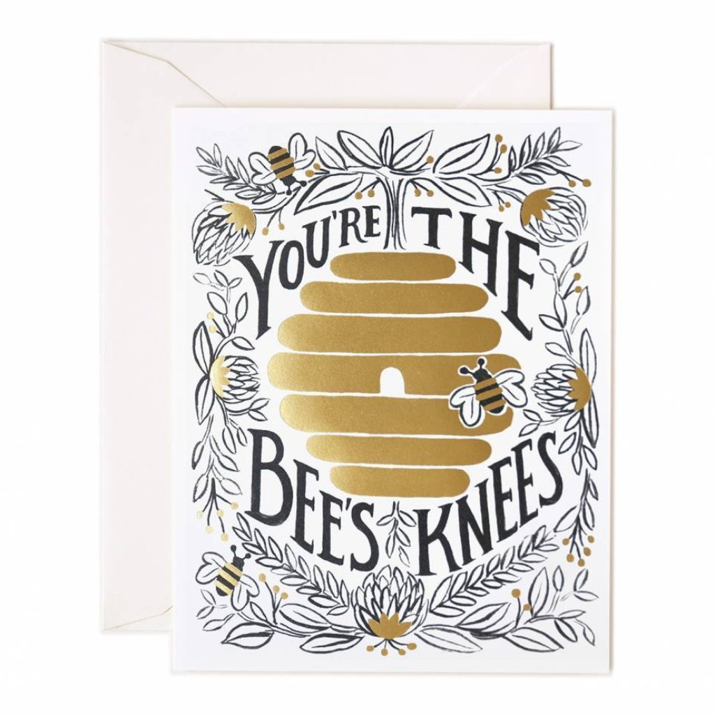 Rifle Paper Co. Greeting Card - You're The Bee's Knees