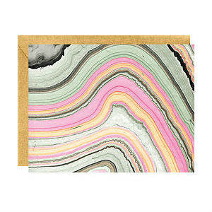Paper Source - Boxed Notes - Colourful Agate