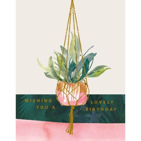 Stephanie Dyment - Greeting Card - Wishing You A Lovely Birthday
