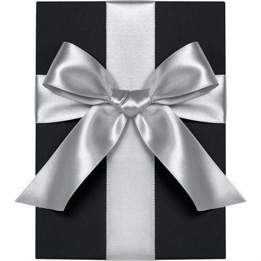 "Waste Not Paper - Ribbon - 1 1/2"" - Satin - Silver"