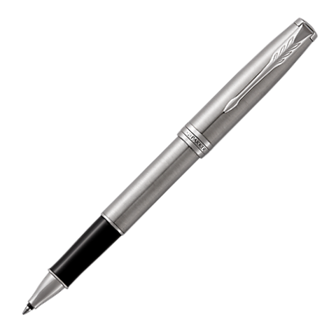 Parker - Sonnet - Rollerball Pen - Steel + Chrome Trim