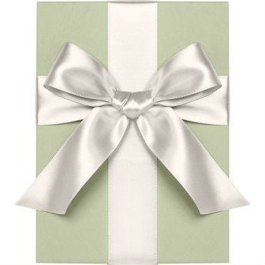 Satin Ribbon - Soft White 1/4""