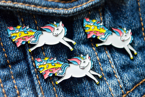 Saucy Face Studio - Enamel Pin - Sweet Arse Unicorn